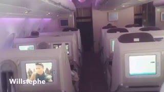 Int�rieur Airbus A380 Vol Paris Abidjan  Air France