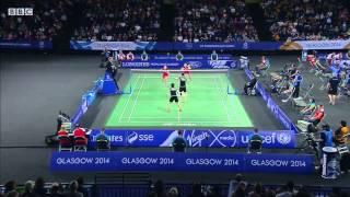WD SF - ENG vs MAS - 2014 Commonwealth Games badminton