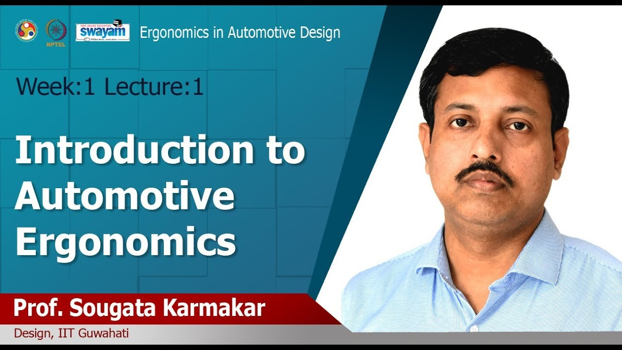Lec 1 Ergonomics And Its Domain Of Specializations Youtube