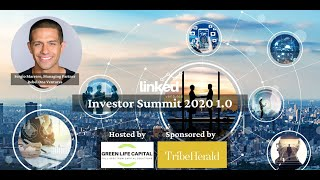 """""""What's poised to disrupt venture capital"""" Sergio Marrero at Linked Ventures Investor Summit"""