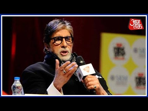 Amitabh Bachchan Addresses Young Minds At India Today Mind Rocks