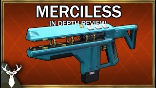 Destiny 2 - Merciless - In Depth Review (Exotic Fusion Rifle)