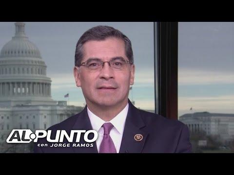 Xavier Becerra habla de la decisión de renunciar a su puesto como congresista