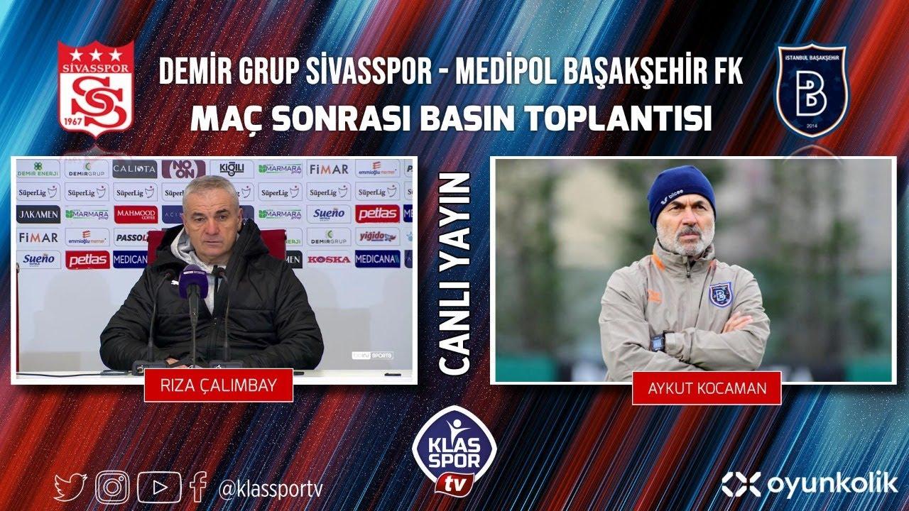 Sivasspor - Başakşehir Basın Toplantısı ᴴᴰ (CANLI)