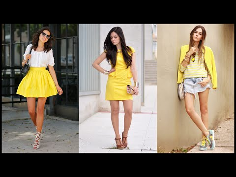 How to Wear Yellow Outfit Combinations for This Spring
