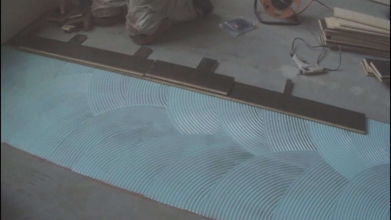 How To Install Glue Down Hardwood Floor On Concrete Diy Installation Tips Mryoucandoityourself