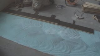 How To Install Hardwood Floor On Concrete: How To Start From The Center Of The Room