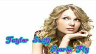 Taylor Swift - Sparks Fly (Speak Now Album)