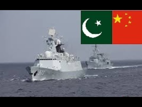 Pak-China Joint Naval Exercise 5th PN-PLA(N) Bilateral Exercise held at Shanghai, 2017