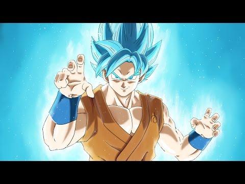 How to Draw Goku SSJ Blue (step by step) - Dibuja a Goku Super Sayajin azul  (paso a paso)