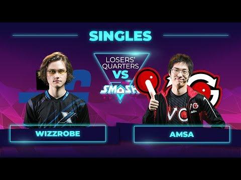Wizzrobe vs aMSa - Melee Singles: Losers' Quarterfinals - Smash Summit 7