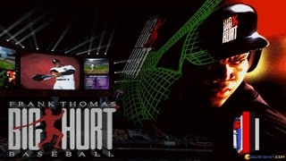Frank Thomas Big Hurt Baseball gameplay (PC Game, 1995)