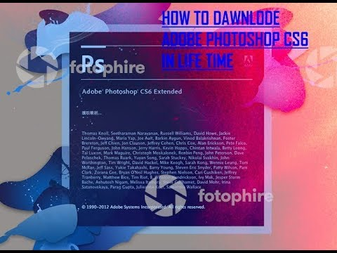 How To Download Photoshop CS6 For FREE FULL VERSION On Windows 10,8,7 And Mac WORKS By  Tg