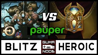 Pauper - IZZET BLITZ vs MONO WHITE HEROIC