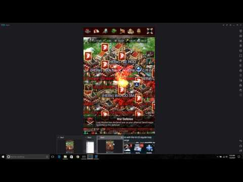 Game Of War Fire Age! KVK Heroless Rally Trap Frenzy
