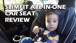 Review: Graco SlimFit All-in-One Convertible Car Seat in Maxwell (Lethal Suburban)