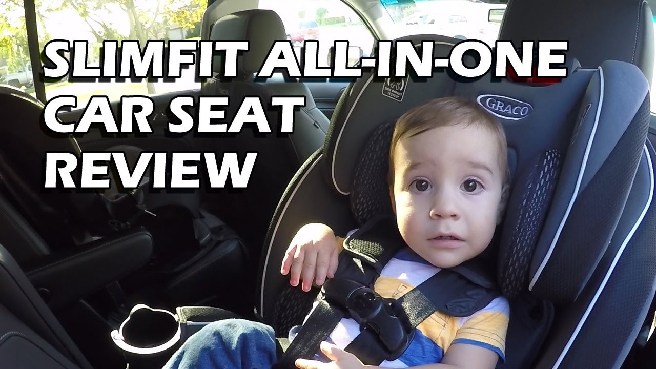 Review: Graco SlimFit All-in-One Convertible Car Seat in Maxwell ...