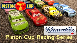 Piston Cup Racing Series PCRS | Race 5/7 Knoxville Raceway Stop Motion