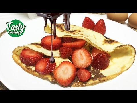 ♡•-recette-crêpes-nutella-banane-et-fraise-très-facile-!