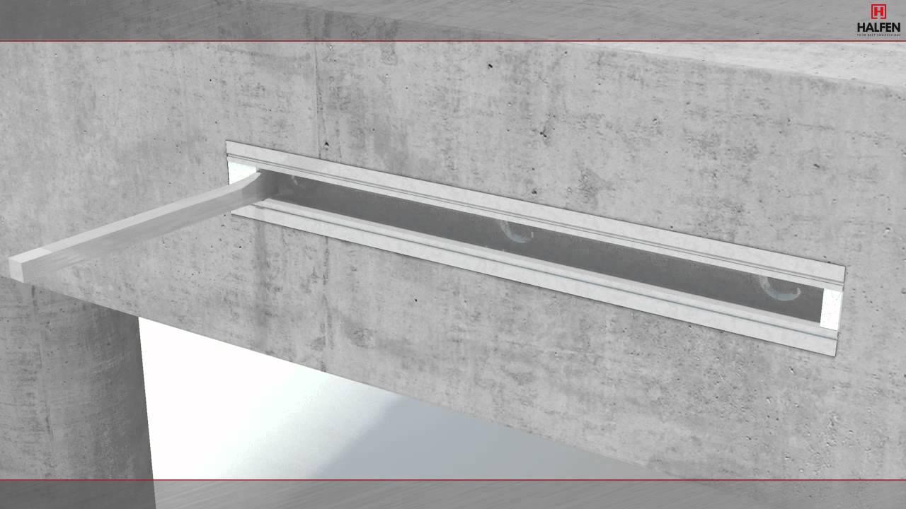 HALFEN Curtain Wall Installation Animation - YouTube