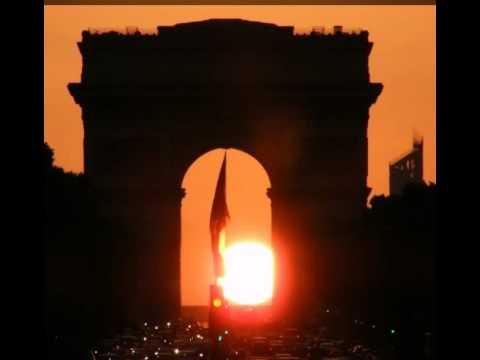 Coucher de soleil sous l 39 arc de youtube - Lever et coucher du soleil est ouest ...