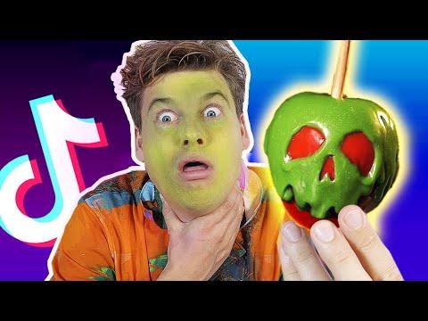 Download 5 TikTok HALLOWEEN HACKS som er både giftige og geniale! | Lakserytteren