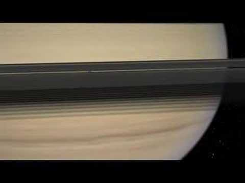 How two of Saturn's moons were formed
