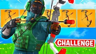 Fresh Does BOOM BOW ONLY Challenge in Fortnite