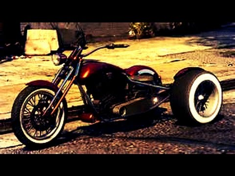 gta 5 new dlc moto 3 roues youtube. Black Bedroom Furniture Sets. Home Design Ideas