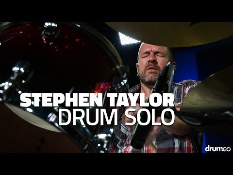 Stephen Taylor Drum Solo - Drumeo