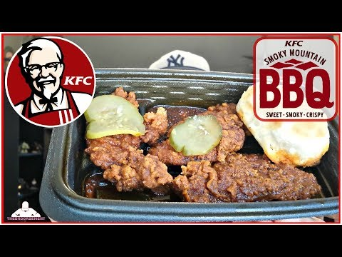 KFC® SMOKY MOUNTAIN BBQ EXTRA CRISPY™ TENDERS REVIEW! 🐔🗻