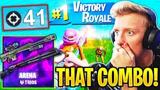 Unknown Pro Obtient 'NEW' WORLD RECORD 41 KILLS ARENA! Fortnite SOLO TRIO