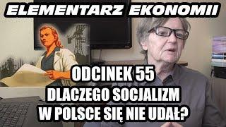 ELEMENTARZ EKONOMII - odc.55 - Dlaczego socjalizm w Polsce się nie udał?