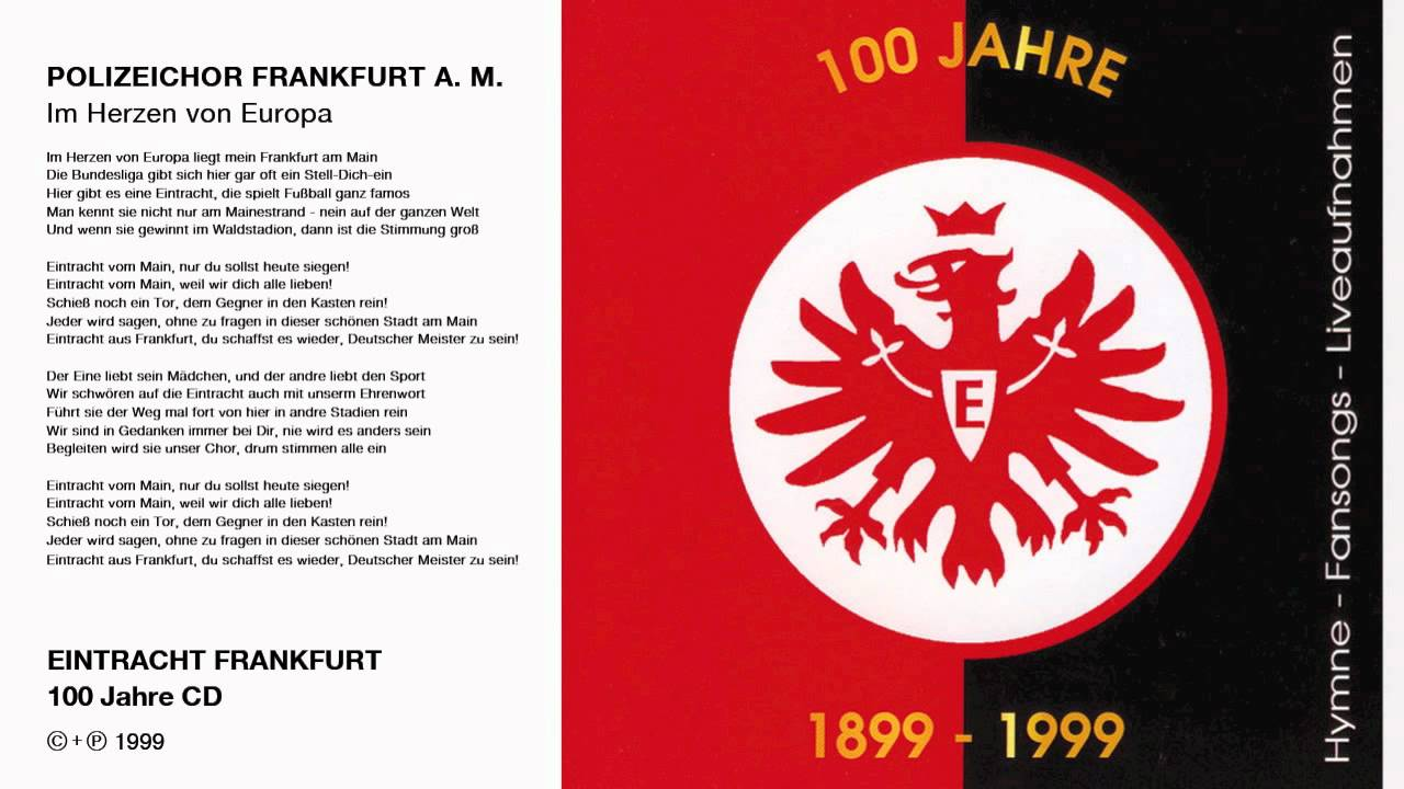 Polizeichor Frankfurt  Im Herzen von Europa Original