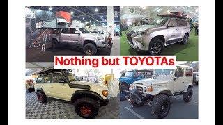 Nothing but Toyota 4x4s : SEMA 2019 (Tacomas, 4Runners, Tundras, Landcruisers)