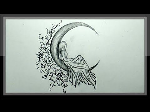 Pencil Drawing A Beautiful Picture Simple And Easy