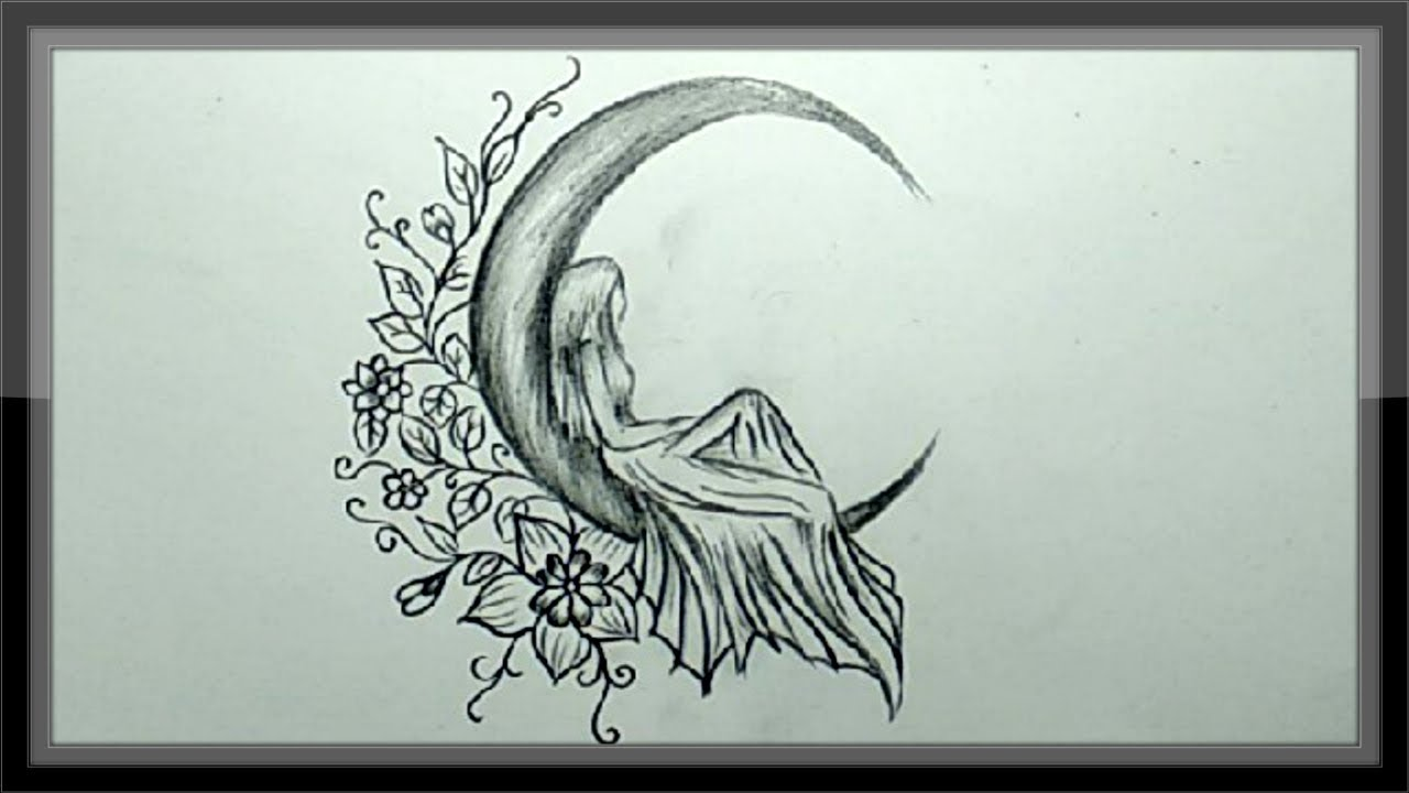 Pencil Drawing A Beautiful Picture Simple And Easy - YouTube