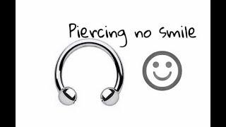 O que não te contaram sobre piercing no smile!😨