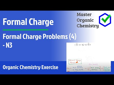 Formal Charge Problems (4) - N3