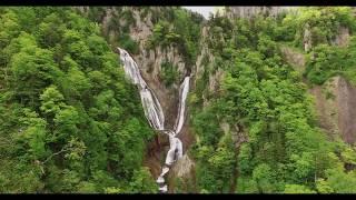 JG HDR 北海道 天人峡と羽衣の滝(滝百選) Hokkaido,Tenninkyo and Hagoromo Fall(Waterfall100)