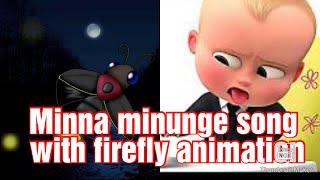 Minna Minunge Minnum Minunge Song With Animation Video//Malayalam Cartoon Video/Kalabhavan Mani Song