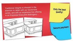Governor Series Executive Lateral File U Desk - ofconcepts.com