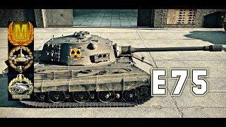 E75 #2 world of tank blitz Aced gameplay 5400 DMG