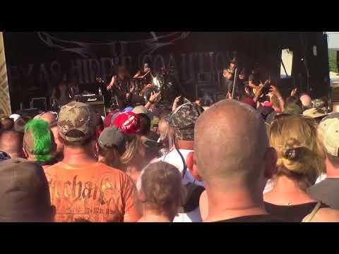Texas Hippie Coalition Carolina  Rebellion 2018 filmed by MMSP&MDR