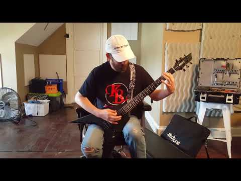 K B Guitars 'Stealth' model demonstration