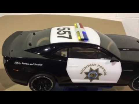 For Sale Rc Police Car W Lights Amp Siren Youtube
