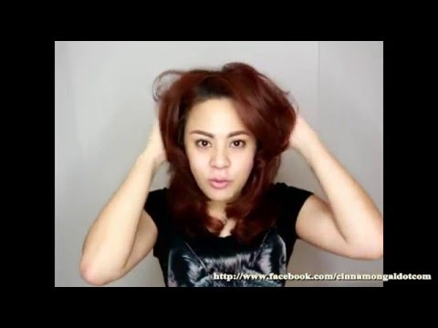 Cinnamongal How To Volume hair japanese style by L'oreal EVERSTYLE Volume