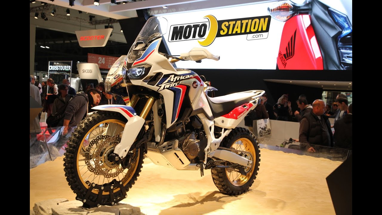honda africa twin 2016 voici la crf 1000 l youtube. Black Bedroom Furniture Sets. Home Design Ideas