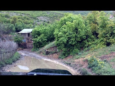 Most dangerous road in Albania part 3