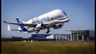 Le nouvel avion de transport d'Airbus a décollé ce matin depuis l'a...